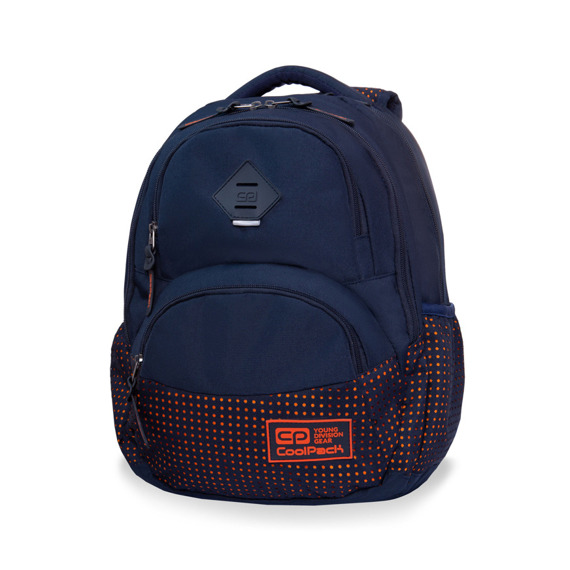 Backpack CoolPack Dart II Dots Orange 97932CP No. B30063