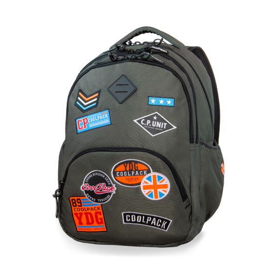 Backpack Coolpack Bentley New Badges Green 37725CP No. B24054
