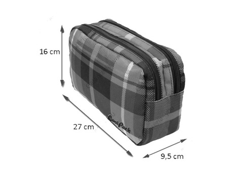 Cosmetic bag Coolpack Florida Pastel check 47203CP nr 128