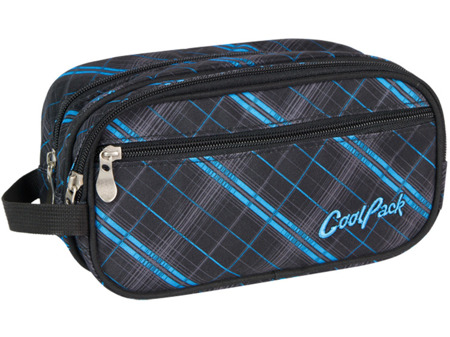 Cosmetic bag Coolpack Wave Scotish blue 51415CP nr 346