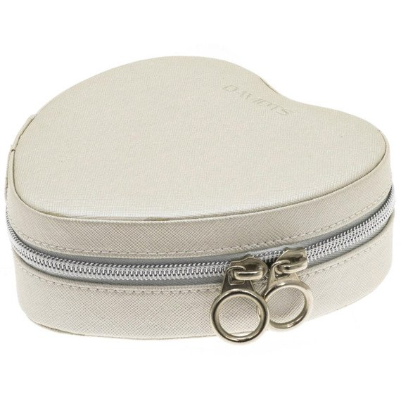 Heart jewel case Davidt's 329.012.04 Beige