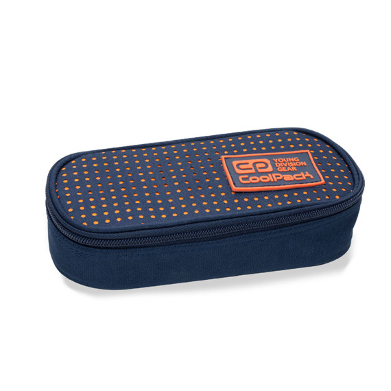 Pencil case  CoolPack Campus Dots Orange 97987CP No. B62063