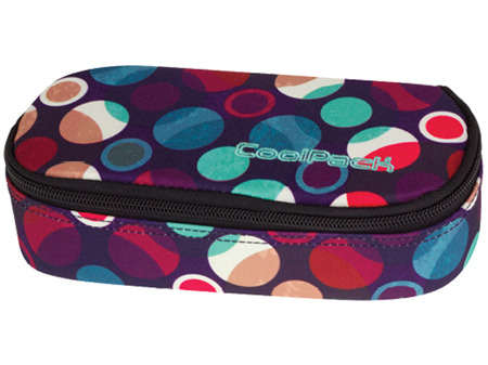 Pencil case Coolpack Campus Mosaic dots 72601CP nr 726