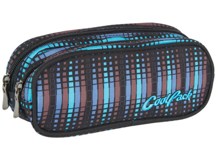 Pencil case Coolpack Clever Blue flash 49122CP No. 238