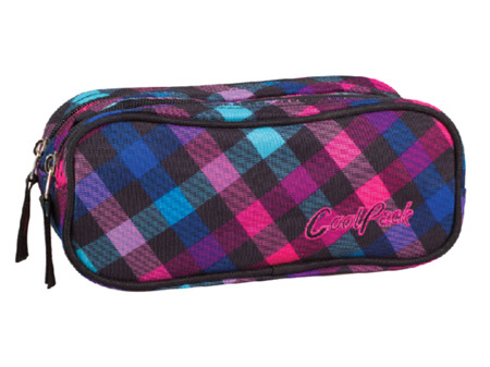 Pencil case Coolpack Clever Scarlet 77859CP No. 668