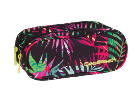 Pencil case Coolpack Clever Tropical island 73950CP No. 774