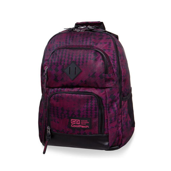 School backpack CoolPack Unit Army Red 98861CP nr B32072