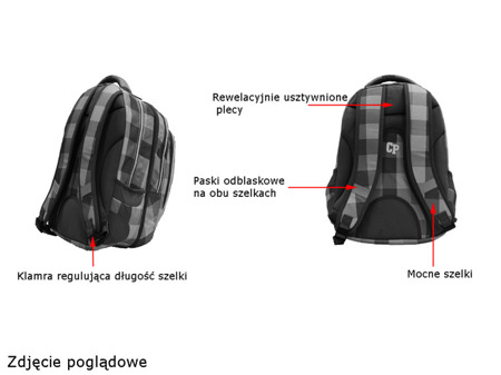 School backpack Coolpack Combo Electra 47654CP nr 162