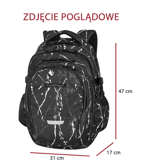 School backpack Coolpack Factor Leaves 71765CP nr 1003