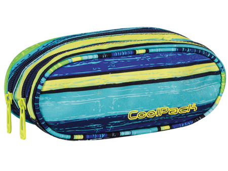 School pencil case Coolpack Academy Blue lagoon 61179CP nr 531