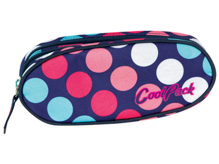 School pencil case Coolpack Academy Dots 45391CP nr 037