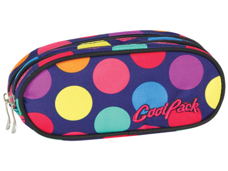School pencil case Coolpack Academy Lollipops 49429CP nr 256