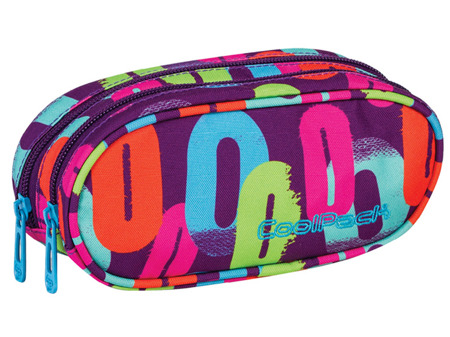 School pencil case Coolpack Academy Multicolor 61636CP nr 548