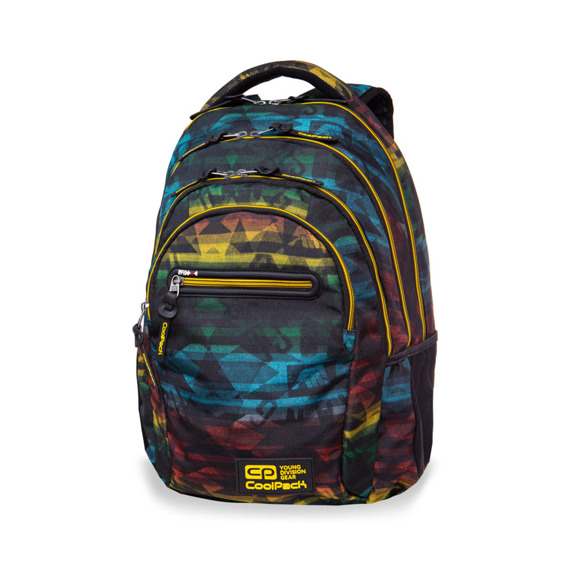 Set Coolpack Hyde - College Tech backpack, Clever Pencil Case and Solo shoebag