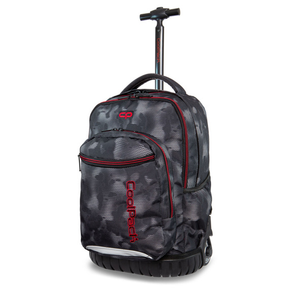 Set Coolpack Misty Red - Swift trolley backpack and Primus pencil case