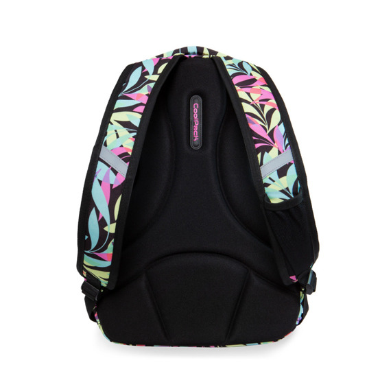 Set Coolpack Pastel Leaves - Strike L backpack and Clever pencil case