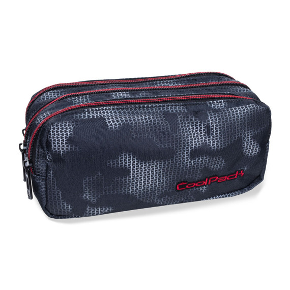 Triple decker pencil case CoolPack Primus Misty Red 32386CP nr B60006