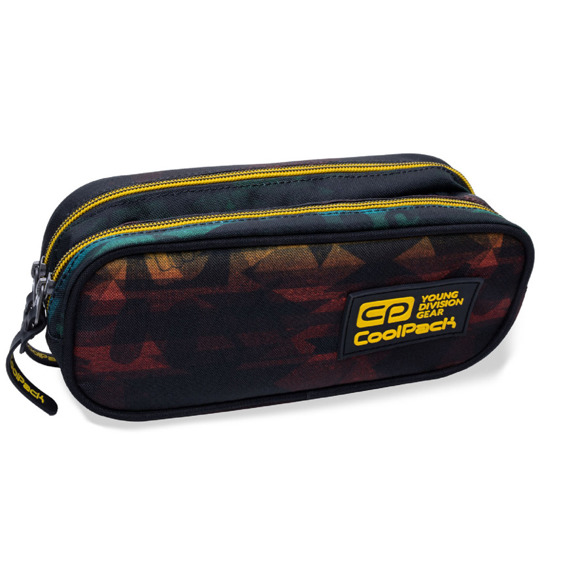 Two-chamber school pencil case CoolPack Clever Hyde 10995CP No. B65097