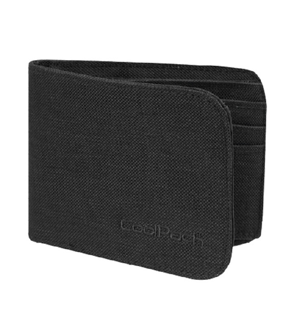 Wallet Coolpack Patron Snow black 76432CP nr 866