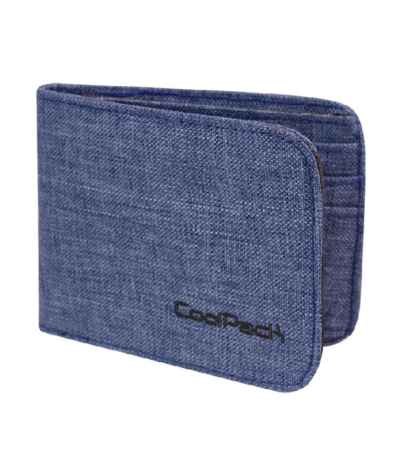 Wallet Coolpack Patron Snow blue 76166CP nr 859