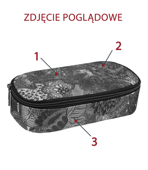Piórnik szkolny Coolpack Campus Plumes 70935CP nr 968 nr A170