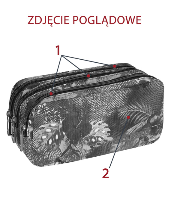 Piórnik szkolny Coolpack Primus Motion check 68994CP nr 892