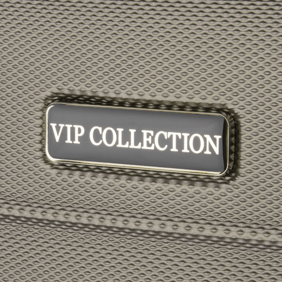 Walizka kabinowa Vip Collection Nevada 18'' Brązowa