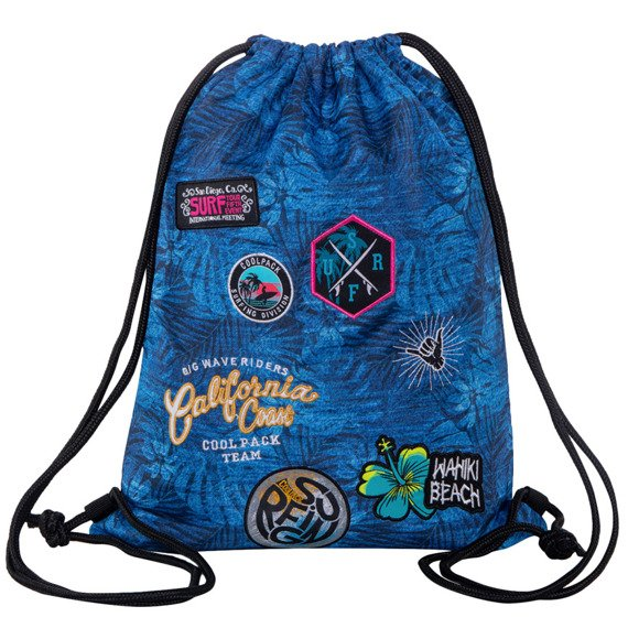 Worek sportowy CoolPack Sprint Badges Girls Blue 50236CP nr B73156